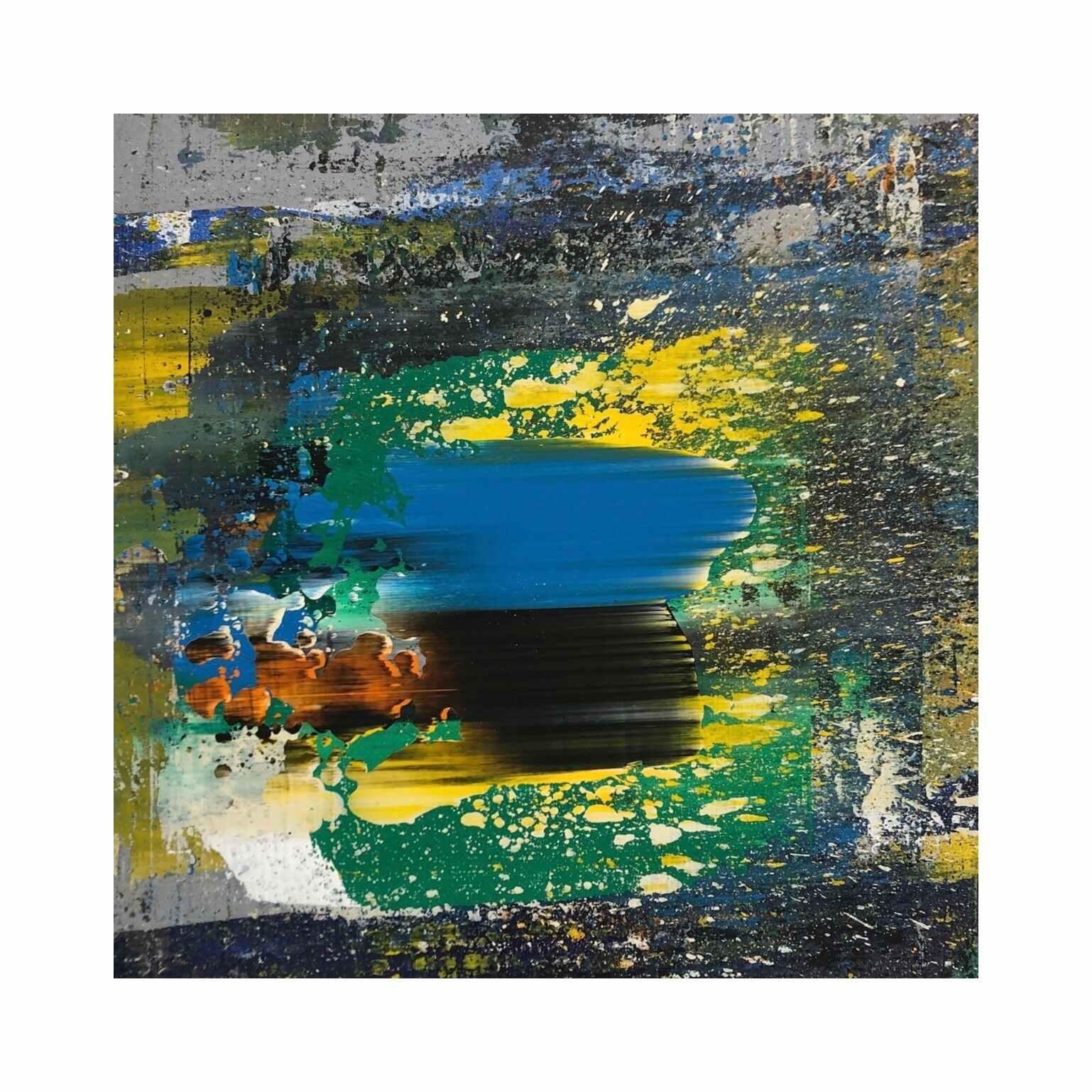 Rhita Gawr  (14.5 x 14.5 inches acrylic on mdf 2019)