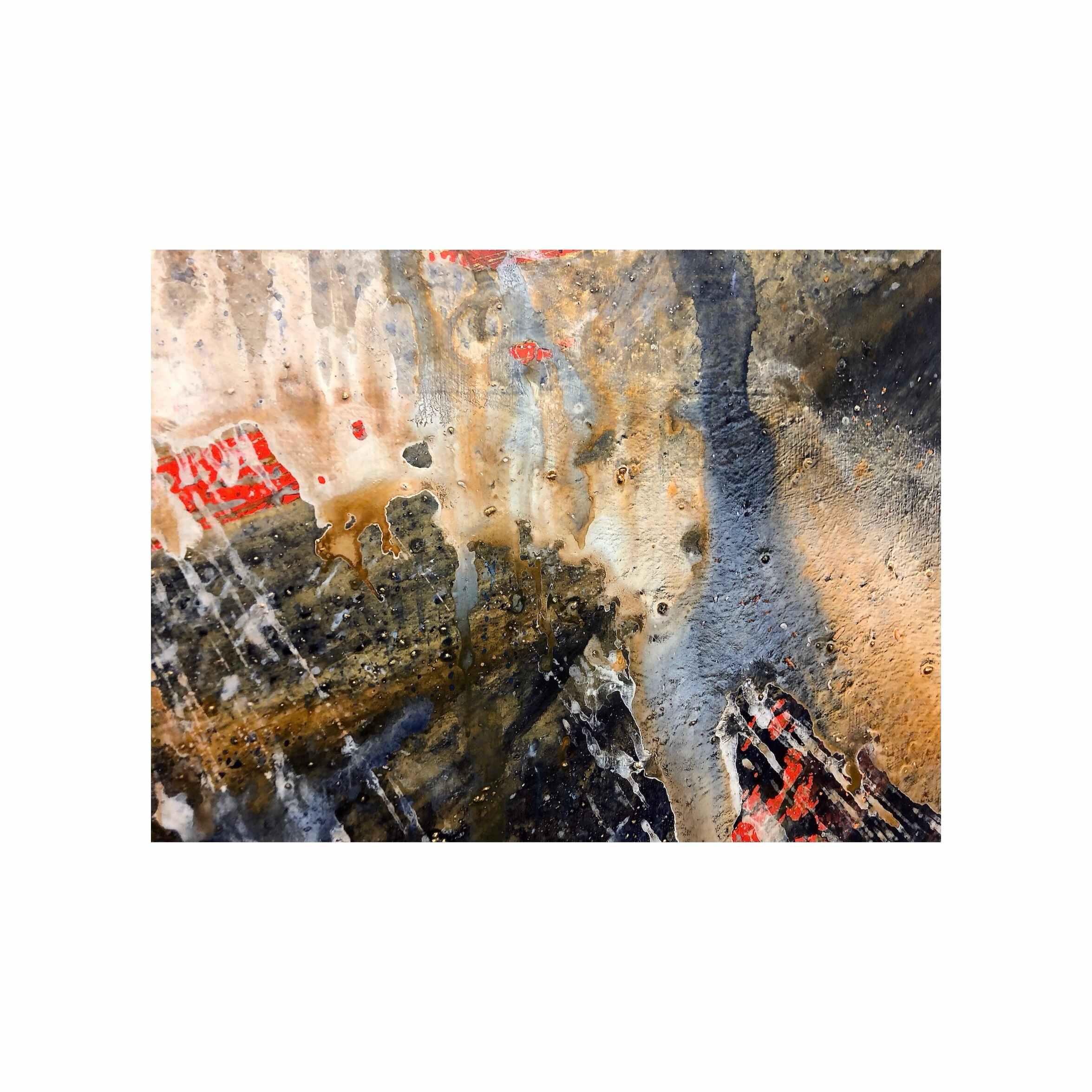 Gorllewin Gwyllt (Detail) (40 x 54 inches x 2 diptych acrylic on mdf 2020)