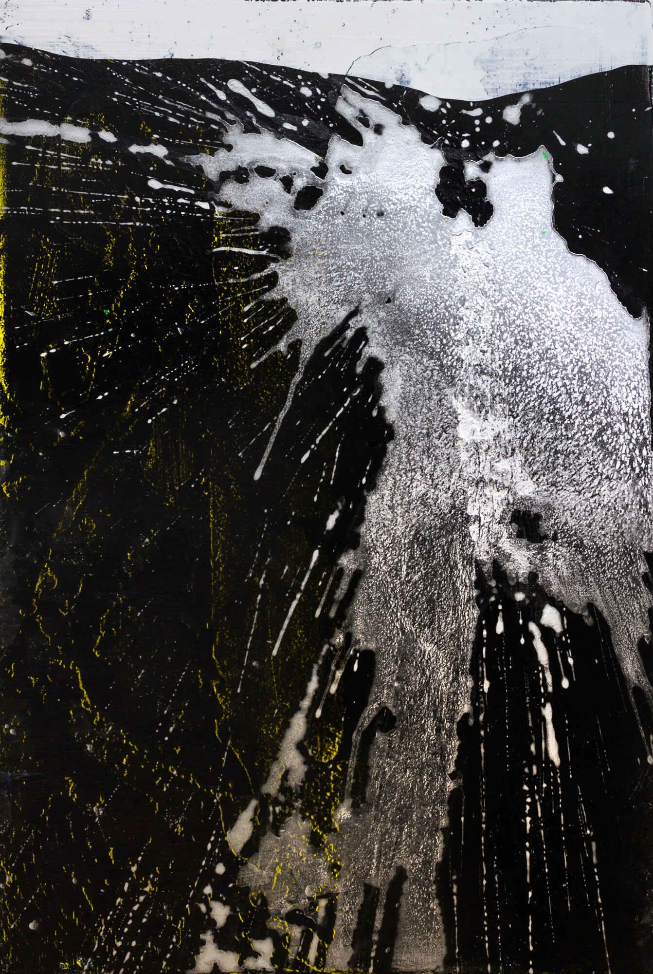 Erw'r Graig (16 x 24 inches acrylic on mdf 2018)